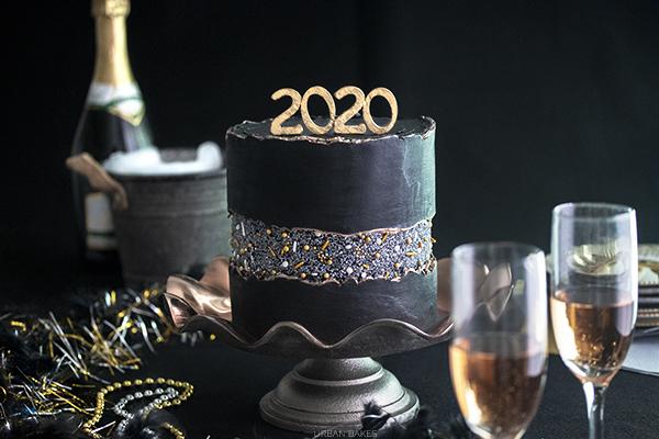 Champagne Cake with Blackberry Buttercream URBAN BAKES 6.1
