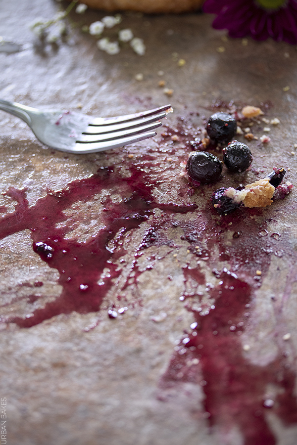 Blueberry Lemon Brown Butter Galette with Rosemary | URBAN BAKES