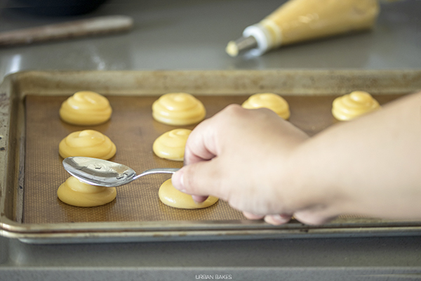 Choux Pastry (Pate a Choux) Prebaked Piped Cream Puffs | URBAN BAKES