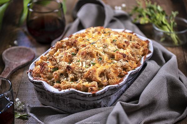 Garlic and Onion Mac and Cheese   URBAN BAKES