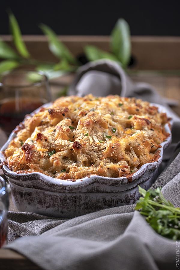 Garlic and Onion Mac and Cheese | URBAN BAKES