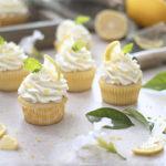 Lemon Cupcakes with Lemon Mascarpone Frosting   URBAN BAKES