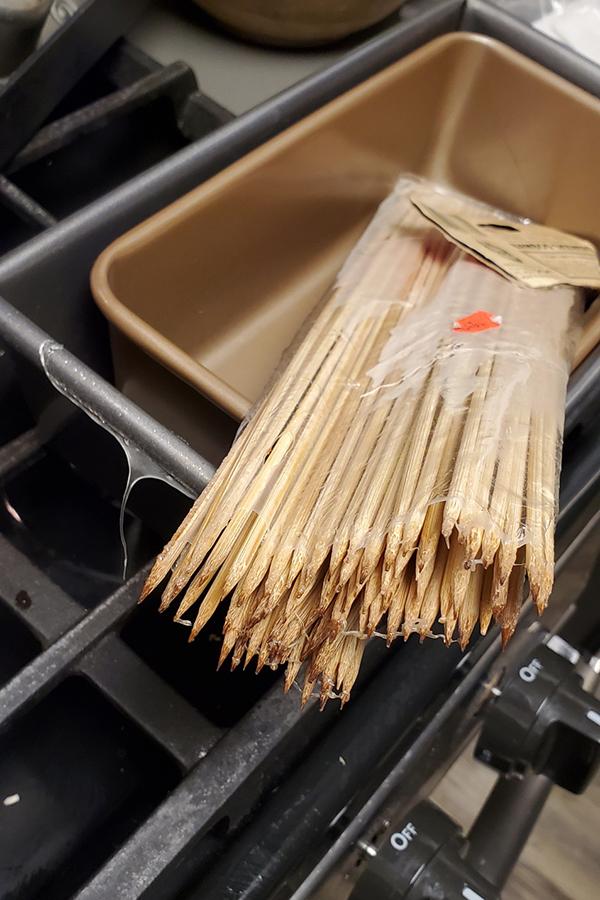 Plastic Burned in Oven - COVID-19