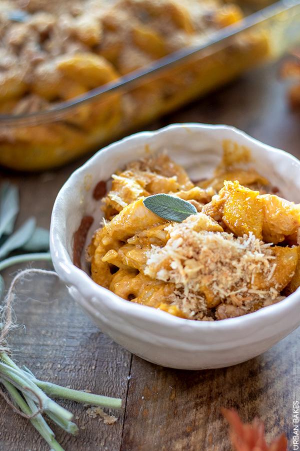 Butternut Squash Mac and Cheese | URBAN BAKES
