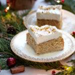 Eggnog Tres Leches Cake | URBAN BAKES