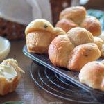 Buttermilk and Sage Clover Dinner Rolls | URBAN BAKES