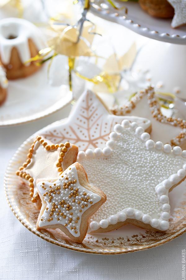 New Year's Eve Sugar Cookies | URBAN BAKES