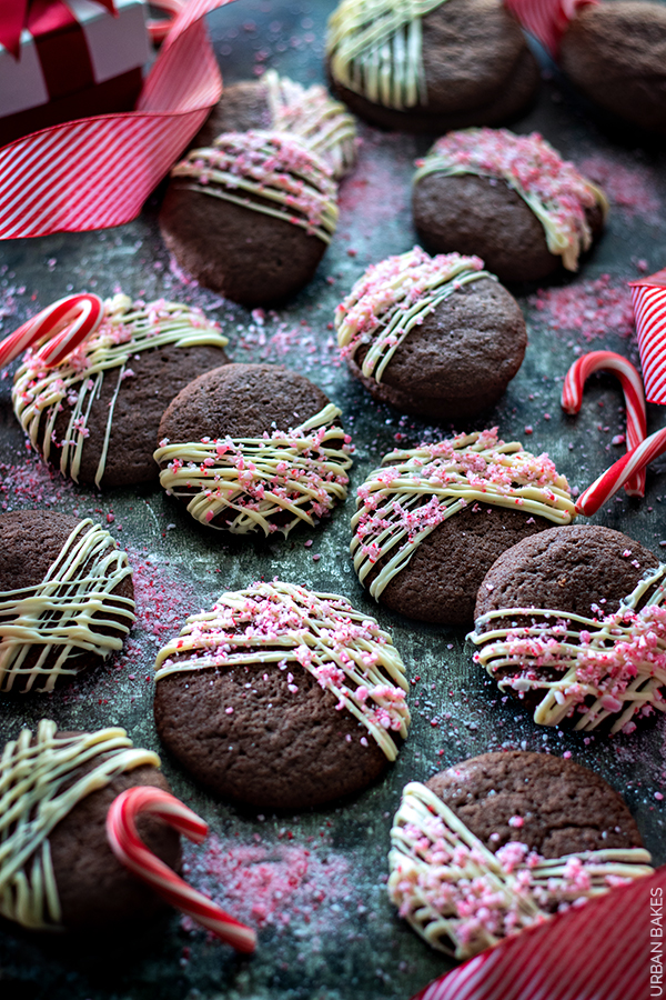 Peppermint Chocolate Cookies | URBAN BAKES