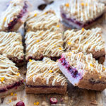 Spiced Cranberry and Orange Crumb Bars | URBAN BAKES