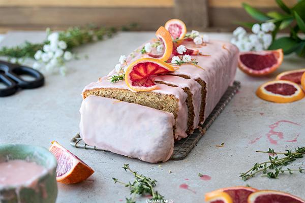 Blood Orange and Thyme Yogurt Cake | URBAN BAKES