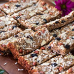 Coconut and Nut Energy Bars | URBAN BAKES