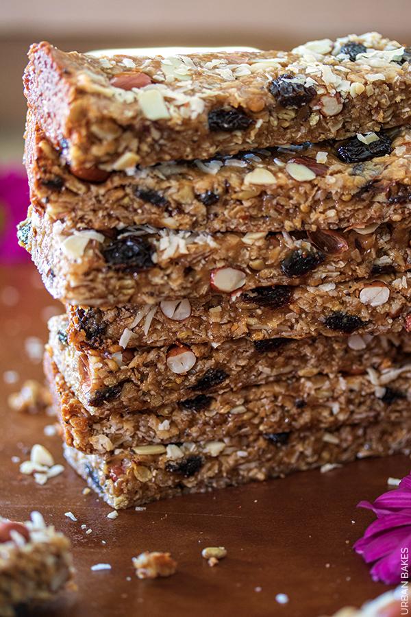 Coconut and Nut Energy Bars | URBAN BAKES