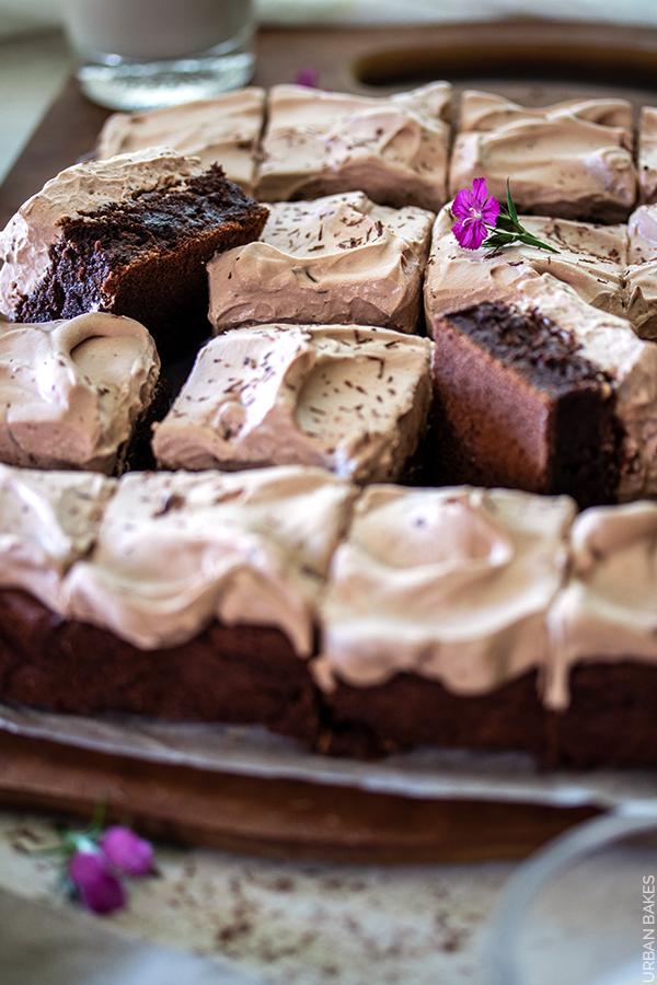 Baileys Irish Cream Brownies | URBAN BAKES