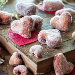 Heart Shaped Nutella Filled Donuts | URBAN BAKES