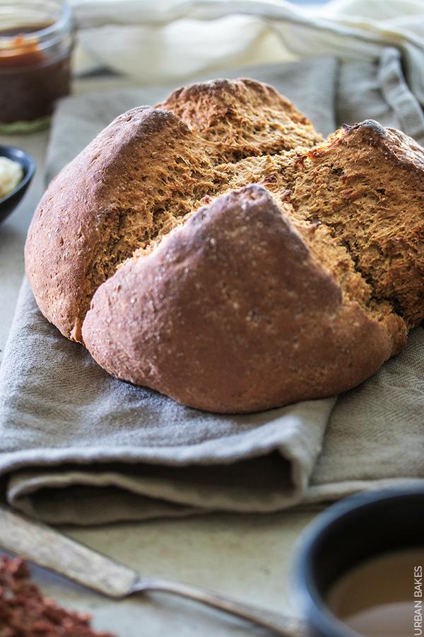 Irish Brown Soda Bread | URBAN BAKES