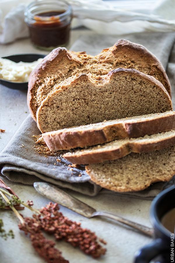Irish Brown Soda Bread