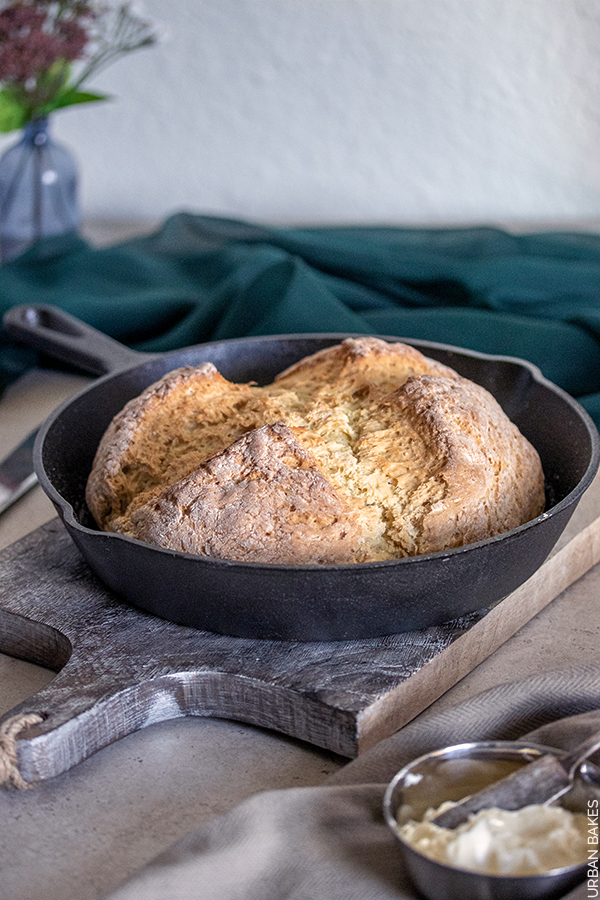 Skillet Irish Soda Bread | URBAN BAKES