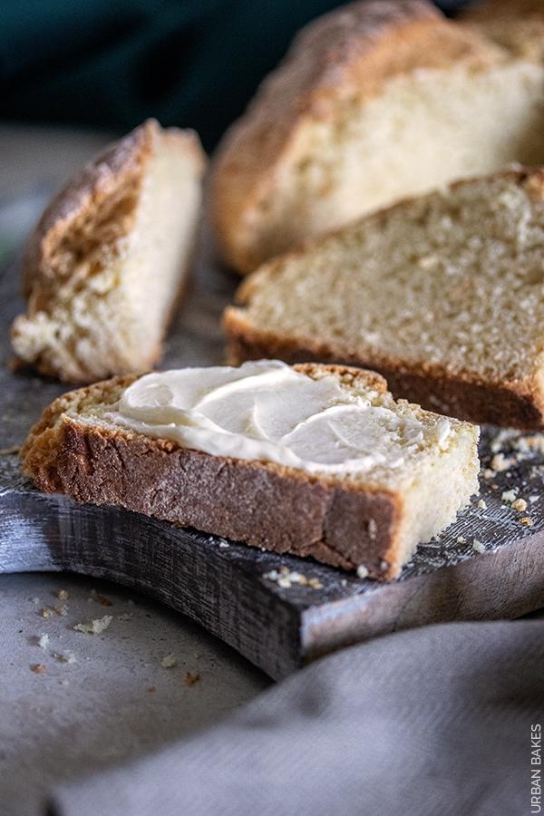 Skillet Irish Soda Bread   URBAN BAKES