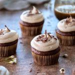 Baileys Devil's Food Cupcakes | URBAN BAKES