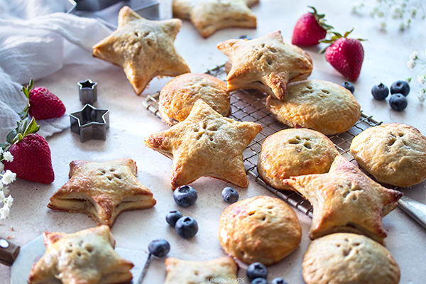 Bourbon and Mascarpone Berry Hand Pies URBAN BAKES 1.1A