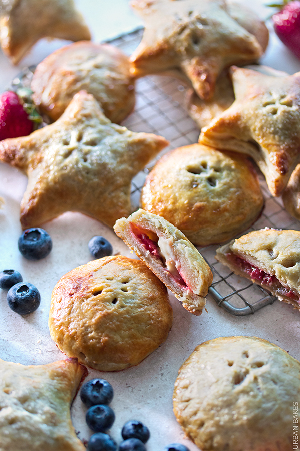Bourbon and Mascarpone Berry Hand Pies URBAN BAKES 3.1A