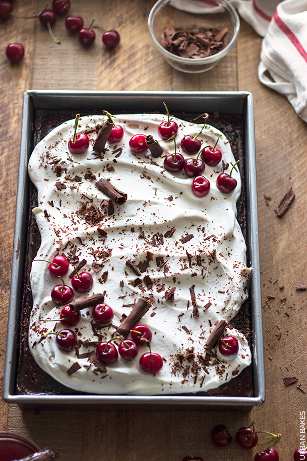 Black Forest Tres Leches Cake by URBAN BAKES