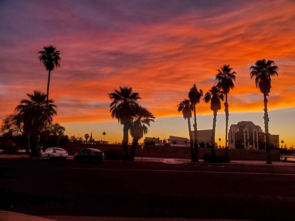 Arizona Sunset in Mesa