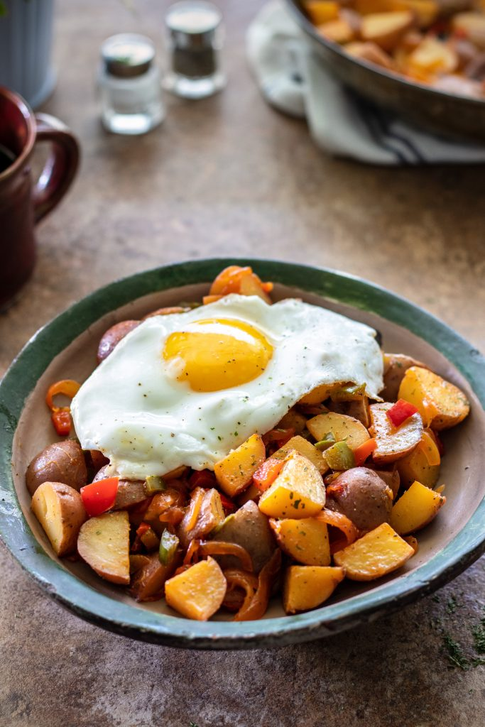 Spanish Style Home Fries Recipe by URBAN BAKES