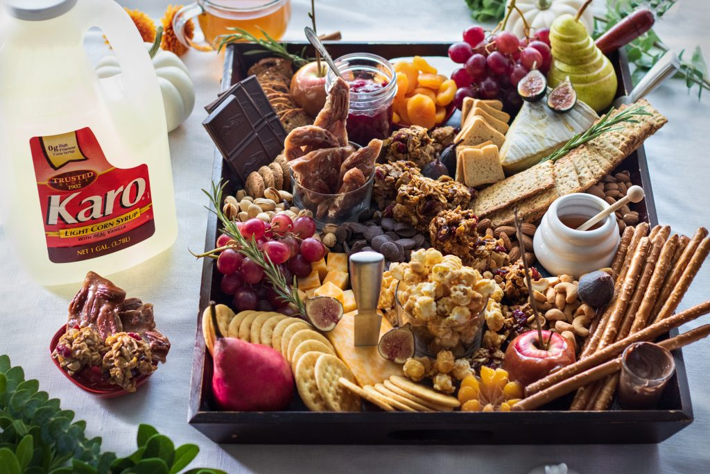Fall Charcuterie Board with Cranberry Almond Cookie Clusters URBAN BAKES 8 1