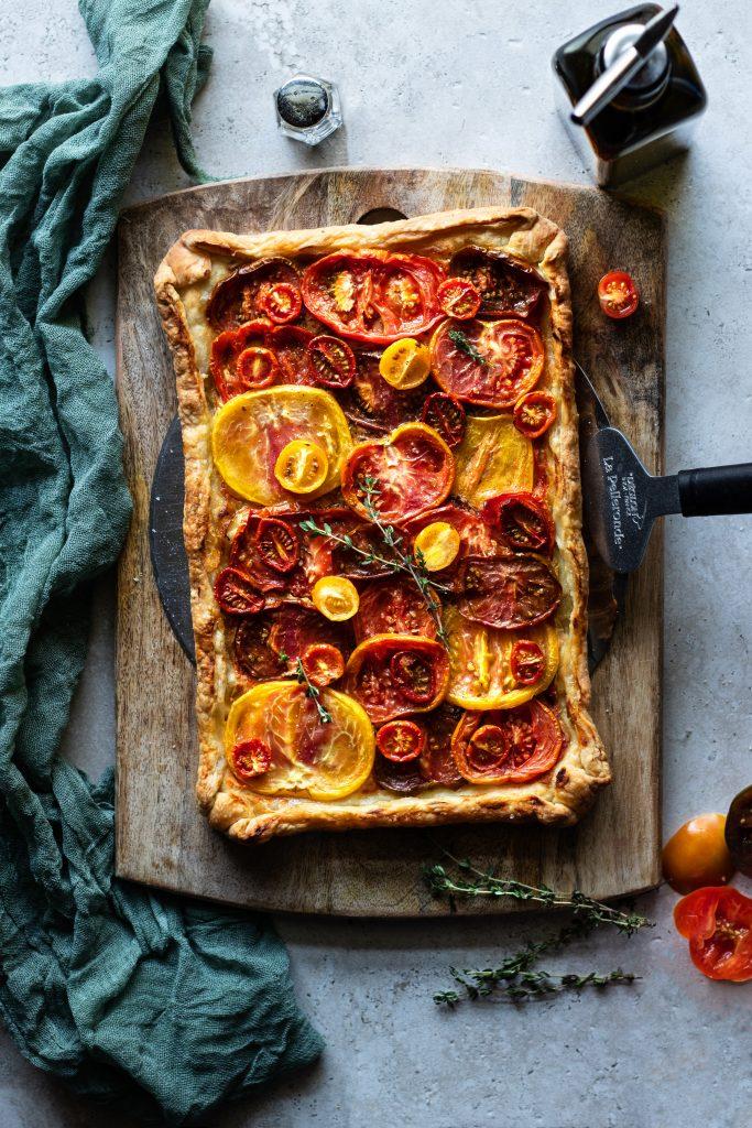 Heirloom Tomato Tart | URBAN BAKES