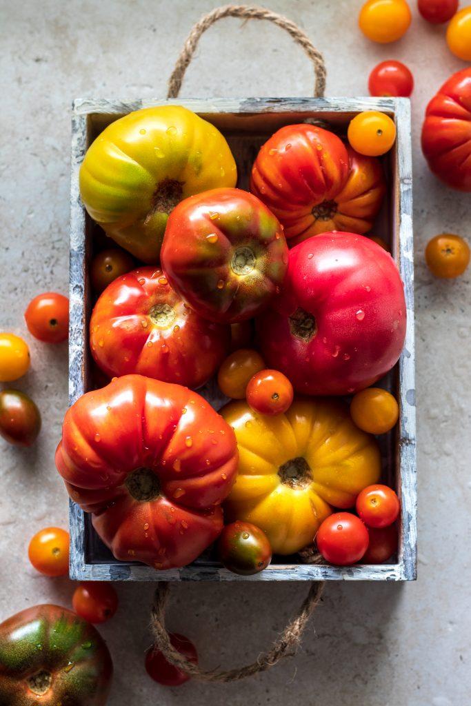 Fresh Heirloom Tomatoes | URBAN BAKES