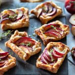 Puff Pastry Plum and Brie Tarts with Mango Chutney | URBAN BAKES